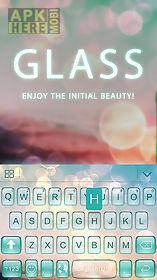 glass theme for kika keyboard