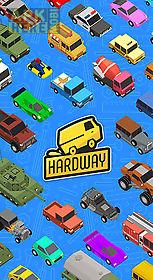 hardway: endless road builder