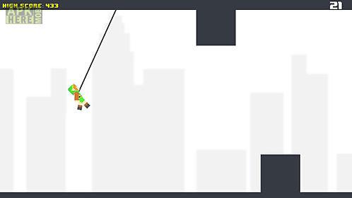 pixel rope: endless rope swing