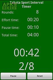tabata sport interval timer