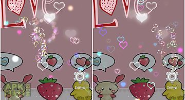 Pink love free wallpaper