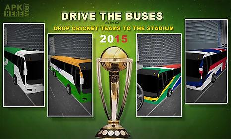 cricket cup bus