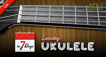 Learning ukulele lite