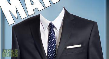 Man suit - cv photo montage