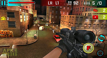 Sniper shoot war 3d