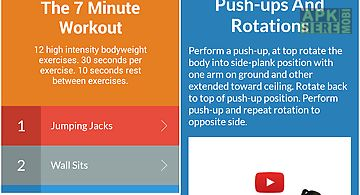 7 minute workout: free fitness