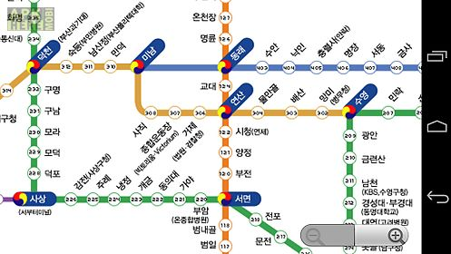 Busan Metro Map For Android Free Download At Apk Here Store - Busan map