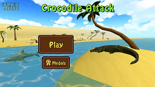 crocodile attack 3d simulator