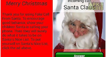 Fake call from santa