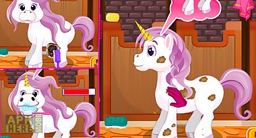Unicorn care -kids game