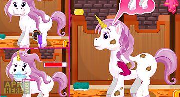 Unicorn care -kids game