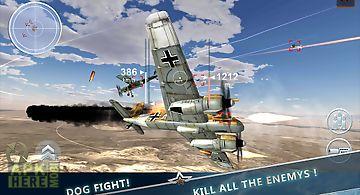 Ww2 aircraft battle 3d