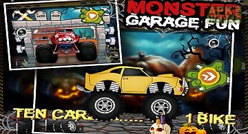 Monster car garage fun