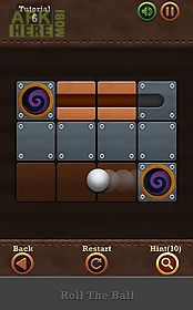 roll the ball: slide puzzle 2