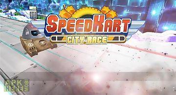 Speed kart: city race 3d