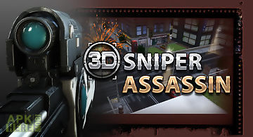 3d sniper assassin - free