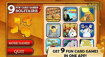 9 fun card games - solitaire