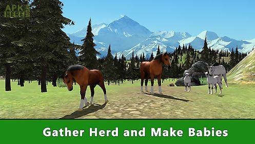 animal simulator: wild horse