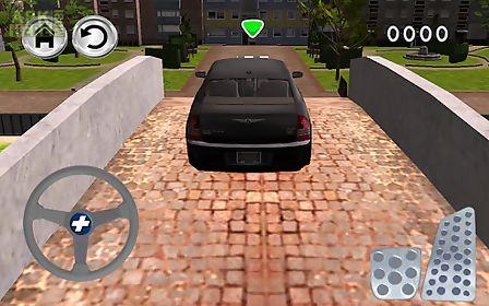 black cars parking simulator