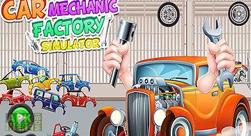 Car mechanic factory simulator