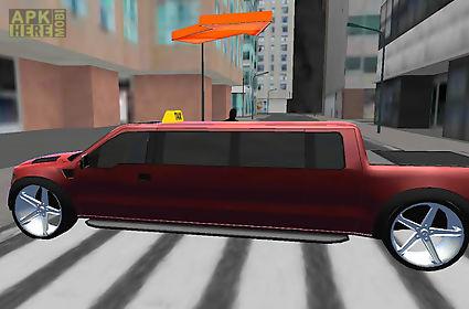 crazy limousine 3d city driver