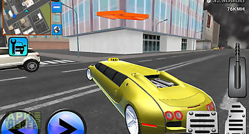 Crazy limousine 3d city driver