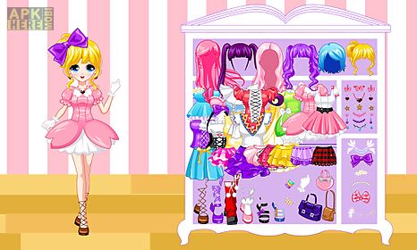 dress up manga wardrobe