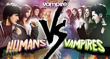 Humans vs vampires