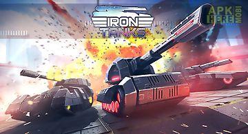 Iron tanks - online battle