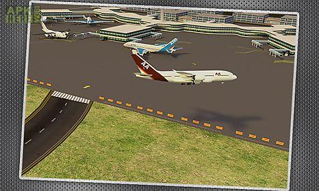 jumbo jet parking 3d