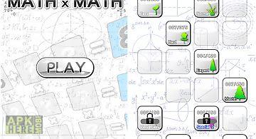 Math x math(math game)