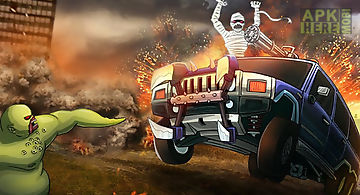 Monster car hill racer