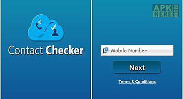 Contact checker