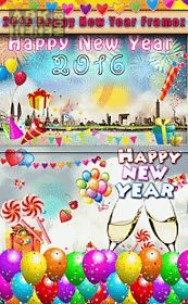 happy new year 2016 frames