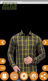 man check shirt photo suit