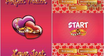 Perfect match love test prank