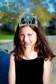 photo sticker ice queen dress