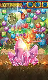 jewels miner: dash hexagon