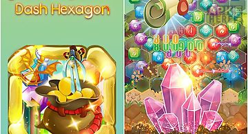 Jewels miner: dash hexagon