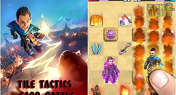 Tile tactics: card battle game