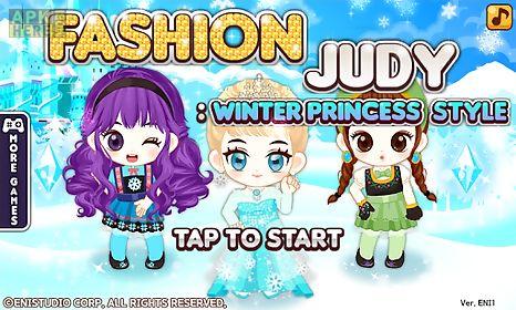 fashion judy: winter princess