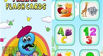 French baby flash cards