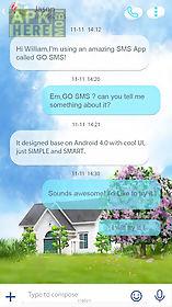 go sms pro watercolour theme