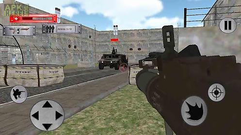 war in enemy basecamp