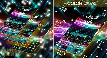 Color dark keyboard