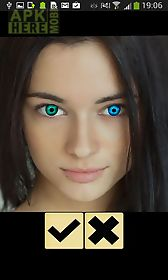 eye color photo booth