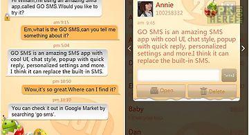 Go sms pro new year - orange