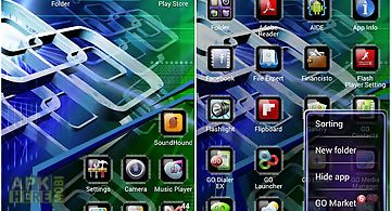 Tech go launcher ex theme