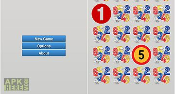 1-2-3 numbers match-up game