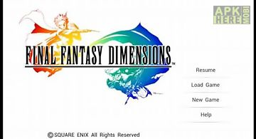 Final fantasy dimensions persona..